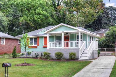 Hapeville Single Family Home For Sale: 434 Dorsey