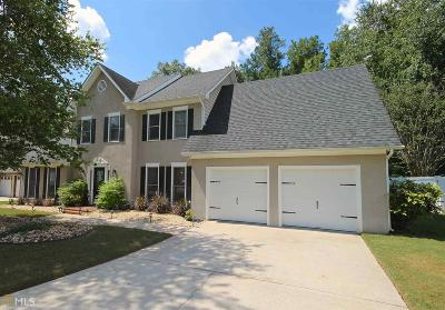 Peachtree City Single Family Home Under Contract: 120 Morallion Hills