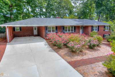 Norcross Single Family Home Under Contract: 701 Dogwood Cir