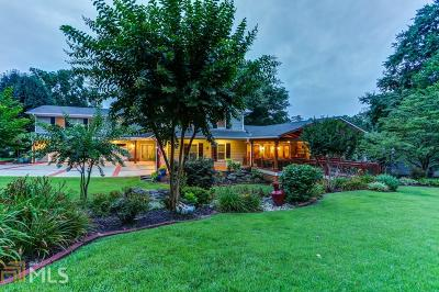 Marietta, Roswell Single Family Home Under Contract: 254 Lakeshore Ct