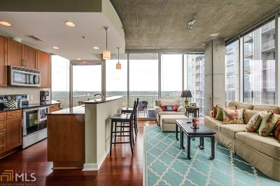 Viewpoint Condo/Townhouse Under Contract: 855 Peachtree St #1513