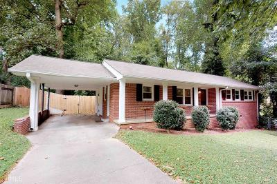 Chamblee Single Family Home Under Contract: 2571 Warwick Cir