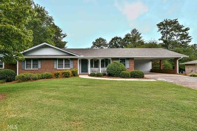 Roswell Single Family Home Contingent With Kickout: 350 Crossville Ct