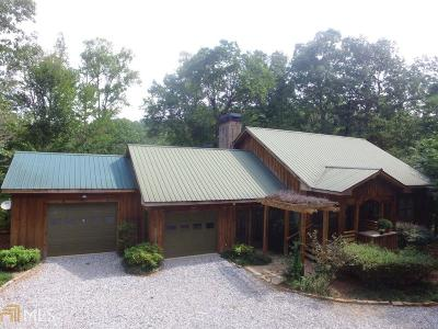 Dahlonega Single Family Home For Sale: 412 John Garner Rd