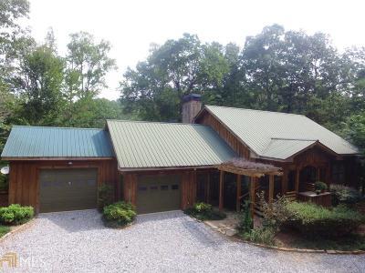 Dahlonega Single Family Home Under Contract: 412 John Garner Rd