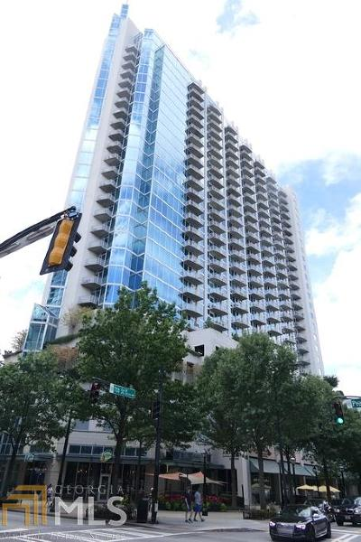 Spire Condo/Townhouse For Sale: 860 Peachtree St #2314