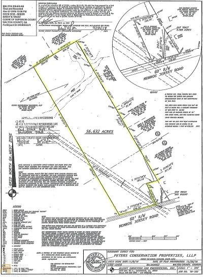 Covington Residential Lots & Land For Sale: Monroe Jersey Rd #6