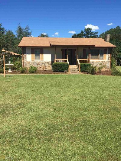 Griffin Single Family Home For Sale: 113 Morris Mill Rd