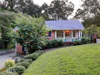 Historic Marietta Single Family Home For Sale: 550 Cherokee St