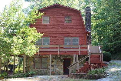 Rabun County Single Family Home For Sale: 129 Discover Cir
