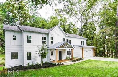 Smyrna Single Family Home For Sale: 3351 Lee St
