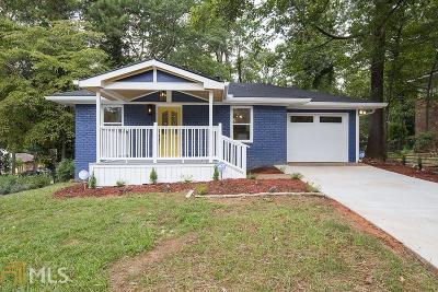 Decatur Single Family Home For Sale: 2384 Mellville Ave