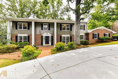 Atlanta Single Family Home For Sale: 1578 Crestline Dr