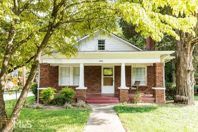 Sylvan Hills Single Family Home Under Contract: 1022 Birch St
