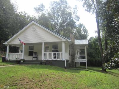 Blairsville Single Family Home Under Contract: 493 Booger Hollow Rd