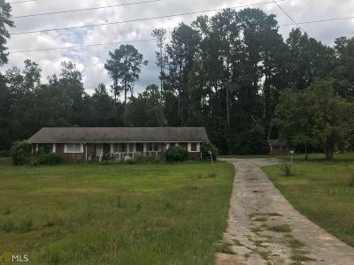Henry County Single Family Home Under Contract: 4291 W Highway 20