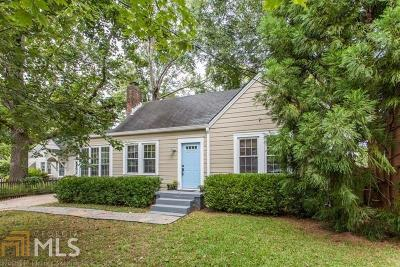 Ormewood Park Single Family Home Under Contract: 779 Palatine Ave