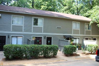 Gwinnett County Multi Family Home Under Contract: 6509 Parton Ct