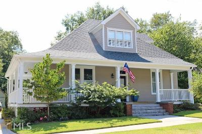 Winder Single Family Home Under Contract: 99 N Center St