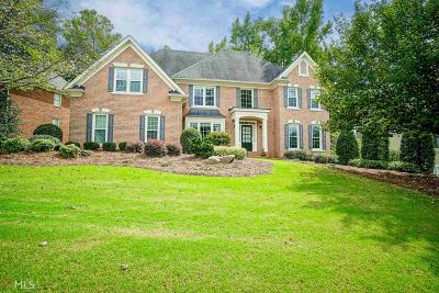 Alpharetta Single Family Home Under Contract: 585 Lake Medlock Dr