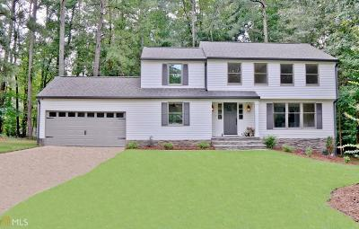 Peachtree City Single Family Home For Sale: 209 Oakmount