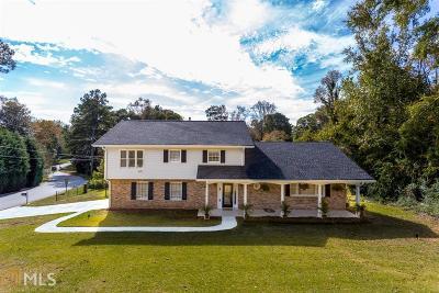 Stone Mountain Single Family Home For Sale: 4093 Rockbridge