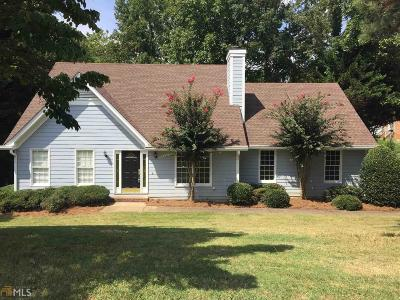 Alpharetta Single Family Home Under Contract: 105 Hannover Trace Ct