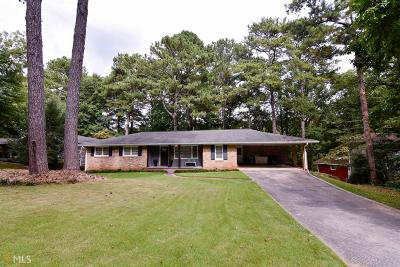 Tucker Single Family Home Under Contract: 2817 Rotherwood Dr