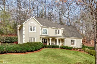 Roswell Single Family Home For Sale: 1000 Balmoral Ln