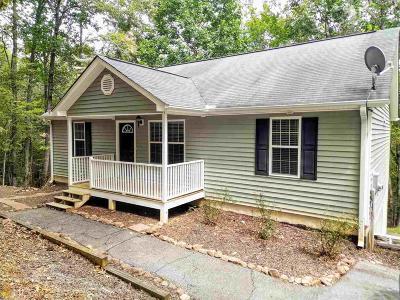 Dahlonega Single Family Home Under Contract: 315 Sleepy Hollow Rd