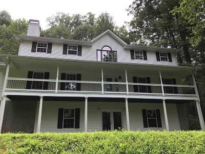 Dahlonega Single Family Home Under Contract: 298 J W Nix