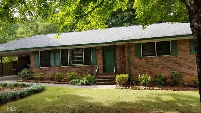 Tucker Single Family Home Under Contract: 4537 Sims Ct