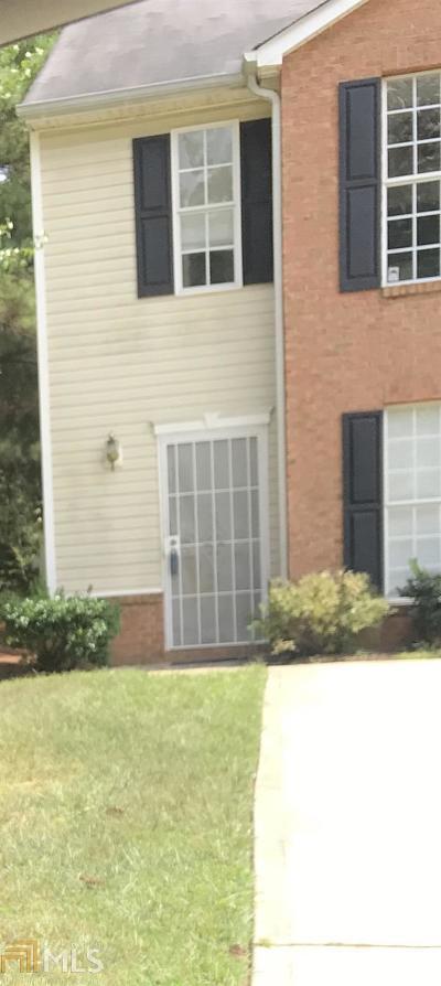 Clayton County Condo/Townhouse Under Contract: 7660 Bernardo Dr