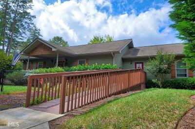 Rabun County Single Family Home Under Contract: 172 Star Mountain Dr #10