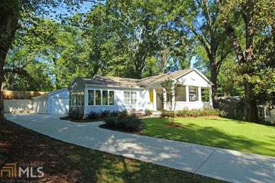Historic Marietta Single Family Home For Sale: 679 Etowah Dr