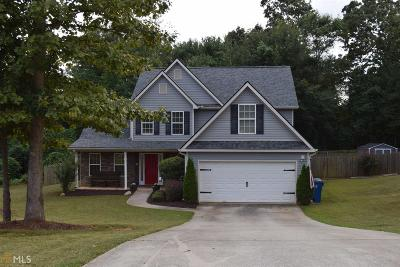 Winder Single Family Home Under Contract: 537 Hemlock Dr