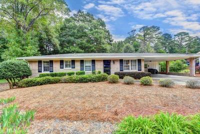Roswell Single Family Home For Sale: 1275 Pine Valley Ct