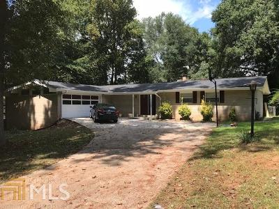 Lithonia Single Family Home For Sale: 4920 Stratford Mill Ct