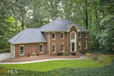 Roswell Single Family Home Under Contract: 255 The Orchard Way
