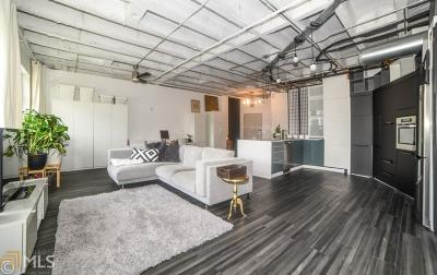 Peachtree Lofts Condo/Townhouse For Sale: 878 Peachtree St #711