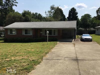 Smyrna Single Family Home For Sale: 3574 Hickory Cir