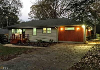 Decatur Single Family Home New: 1996 Meadow Ln