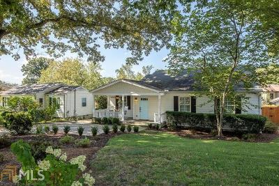 Brookhaven Single Family Home Under Contract: 2714 N Thompson Rd