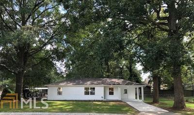 Smyrna Single Family Home For Sale: 480 Powder Springs St