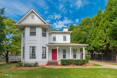 College Park Single Family Home New: 3465 Madison St