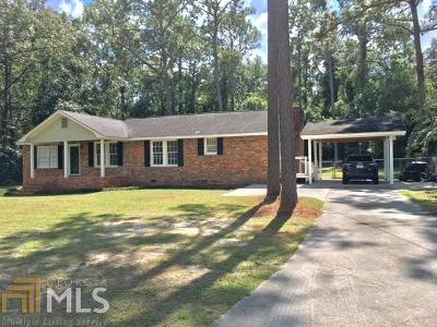 Statesboro GA Single Family Home Under Contract: $105,000