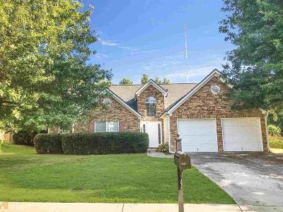 Buford Single Family Home Under Contract: 3467 Hill Pond Dr