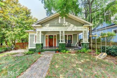 Decatur Single Family Home For Sale: 902 E Ponce De Leon Ave