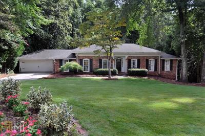 Atlanta Single Family Home Under Contract: 4660 Huntley Dr