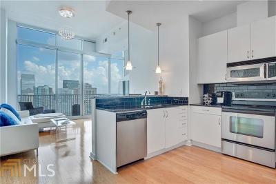 Spire Condo/Townhouse Under Contract: 860 Peachtree St #2815
